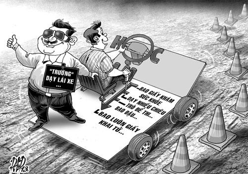 4 điều cần tránh khi học bằng lái xe ô tô hạng b1