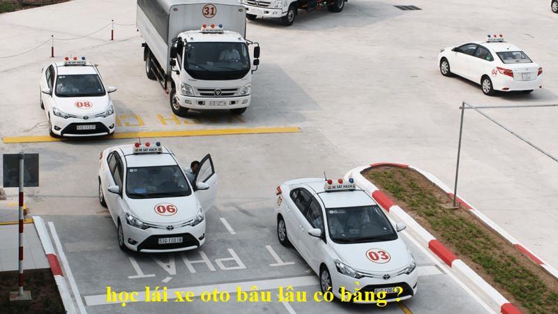 học lái xe bao lâu có bằng