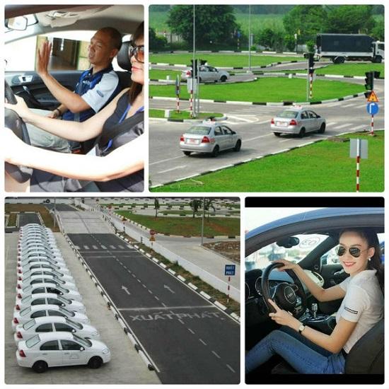 học bằng lái oto
